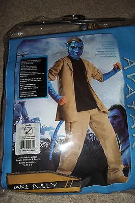 Avatar Jake Sully Costume Boys Large 8-10 - Boys Sully Costume