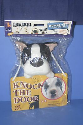 The dog French Bulldog Stuffed toy MSG Artlist Collection Doll KNOCK THE DOOR