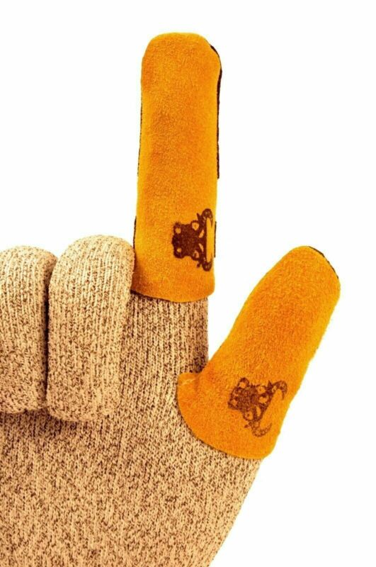 G & F Cowhide Leather Thumb/Finger Guard (Sold Separately), Sold by 1 Piece