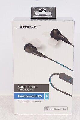Bose QuietComfort 20 Acoustic Noise Cancelling Headphones - Black