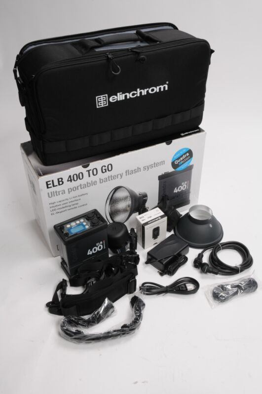 Elinchrom Quadra ELB 400 Action To Go Kit 10417.1 #063