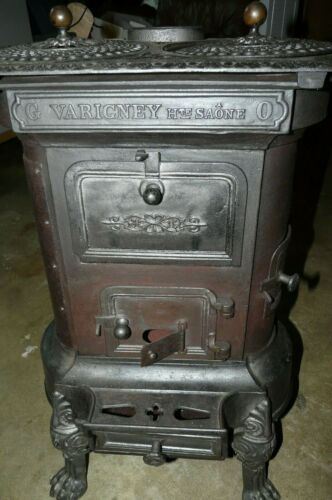 ANTIQUE FRENCH PARLOR STOVE - NINETEEN CENTURY ?