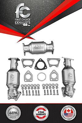 Fits 2006 2007 2008 Honda Ridgeline Catalytic Converter Set D/S P/S & Rear 3.5L