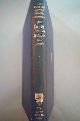 Judson, Alexander.  The Life of Edmund Spenser