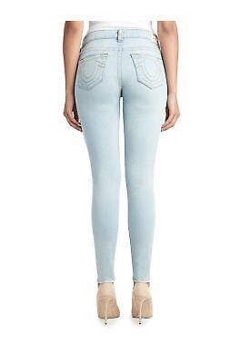 True Religion Women's Super Skinny Jeans Size 25 NWT Pale Sapphire Light Wash Light Sapphire Pale