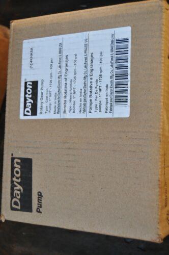 """Daton 4KHK6A Light-Duty 1"""" Cast Iron 100 psi 1725 rpm Pedestal Rotary Gear Pump"""