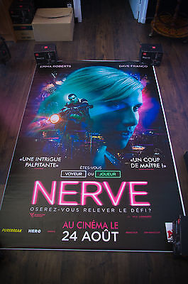 Nerve 4X6 Ft Bus Shelter D S Movie Poster Original 2016