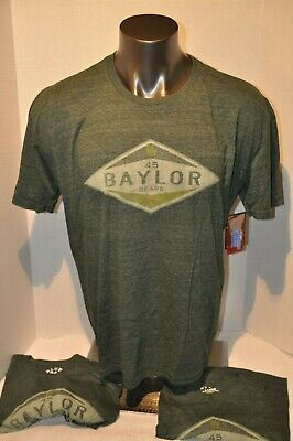 GREEN Baylor University BU Bears NCAA T Shirt College School Tee Mens XL NWT Baylor University Bears