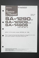 Pioneer Sa-1290 Sa-1290s Sa-1490s Original Additional Service Manual/diagram O40 - pioneer - ebay.co.uk