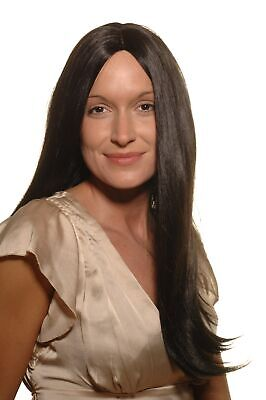 Pocahontas Wigs (Women's Wig Black Snow White Pocahontas Indian Woman 60 cm)