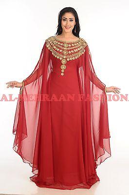 Dubái Boda Vestido Jilbāb Árabe Exclusivo Marroquí Vestido Kaftán Abaya
