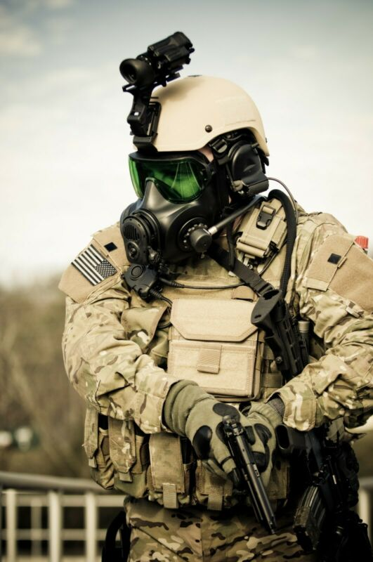RARE ISI/Avon Viking Stealth/SWAT SCBA for FM53 M53 Gas Mask
