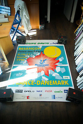 COUPE DAVIS 1996 4x6 ft Shelter Original Vintage Fashion Advertising Poster