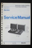 Philips Record Player Amplifier 22af380 Original Service Manual/wiring Diagram - philips - ebay.co.uk