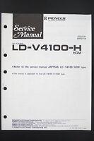 Pioneer Ld-v4100-h Original Ld Reproductor Manual De Servicio/diagrama/ - pioneer - ebay.es