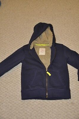 Mini Boden Boys Shaggy Lined Hoodie Jacket, Size 5-6 Boys- Mini Boden Boys Shaggy Lined Hoody