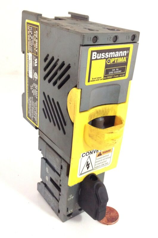 BUSSMAN FUSE HOLDER  OPM-1038SWC *PZB*