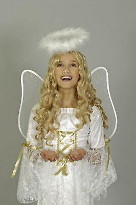 Kostüm Engel 1tlg Engelskostüm Mädchen 104 116 128 Krippenspiel Christkind