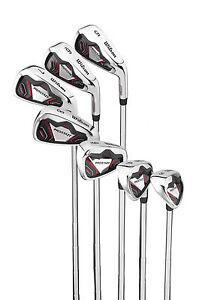 Linkshand Wilson ProStaff HL Golf Eisensatz Eisen 5-SW Stahlschaft