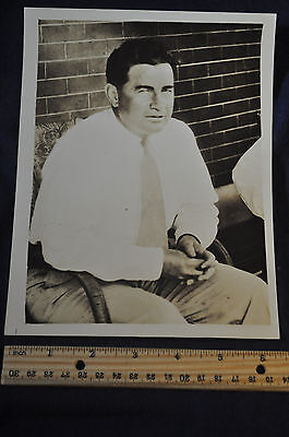 1933 Nobel Kizer Purdue Athletic Director and Football Coach Press Photo