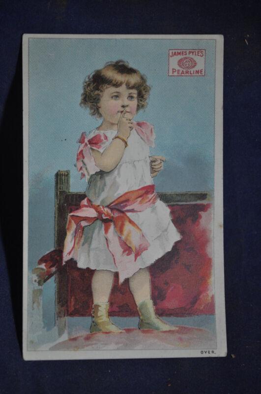 James Pyles Pearline Victorian Card
