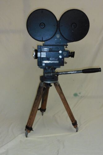 35MM G.C. MITCHELL CAMERA W/ HEAD- TRIPOD 1000