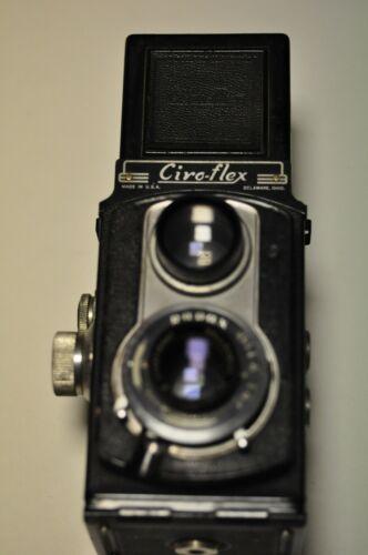 Ciro-flex model E TLR 120 film camera.