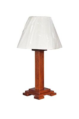 Oak Mission Style Table - Mission Style Table Lamp Solid Oak Amish Made 27