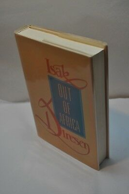 Isak Dinesen ~ Out of Africa ~ Book Of the Month Club Special Edition ~Hardcover