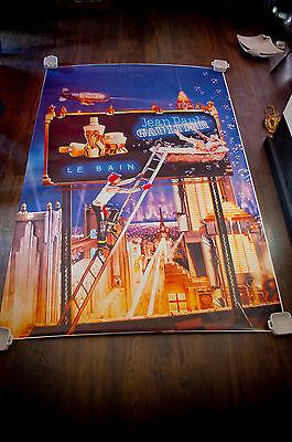 JP GAULTIER LE BAIN 4x6 ft Bus Shelter Original Vintage Fashion Poster 1998