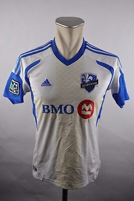 Impact Montreal MLS Trikot 2010-11 Gr. 164 Kinder Adidas weiß Home BMO Jersey