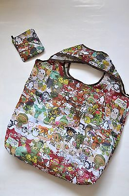 Eco Reusable Foldable Shopping Tote Bag cute Cartoon