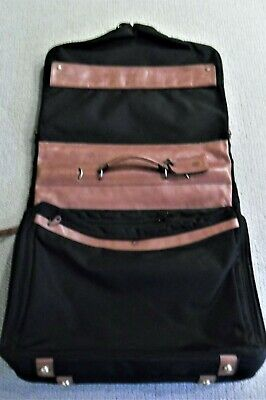 GLASER DESIGNS 6-Suiter Garment Bag Luggage Custom Made In San Francisco RARE!