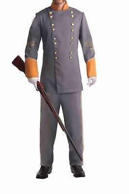 Forum Novelties Men's Civil War Confederate Officer Costume, Gray, Standard](Civil War Costumes For Men)