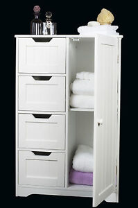 free standing bathroom cabinet ebay. Black Bedroom Furniture Sets. Home Design Ideas
