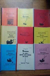 Ajax parts Manuals