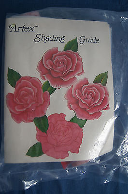 Artex Silver Bells Red Hanging Shading Guide Book Samples Trichem Paint