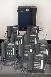 Panasonic-KX-TDA15-TELEPHONE-SYSTEM-WITH-8-PANASONIC-KX-T7665