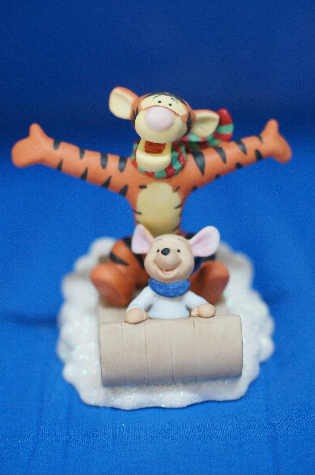 Winnie Pooh Tigger Roo You Make Life Fun Disney Precious Moments Figurine 121702