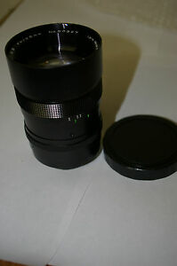 BRAND-NEW-135mm-F2-8-AUTO-TELEPHOTO-LENS-M42-SCREW-MOUNT-w-SHADE-MADE-in-JAPAN