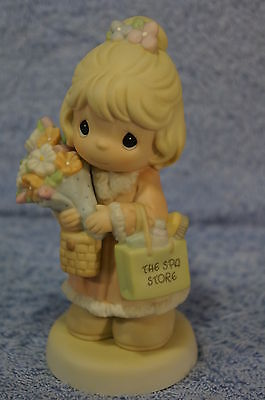 Precious Moments #C0022 It's Time To Bless Your Own Day-Member Figurine - MINT