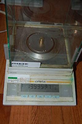 Sartorius Analytical Lab Scale Delta Range Balance Bp211d 0.01 Mg 200g