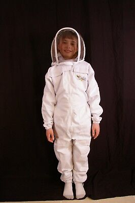 Childs Beekeeping Suit With Fencing Veil - 4xs