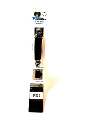 National Instruments NI PXI-8232 Gigabit Ethernet Interface