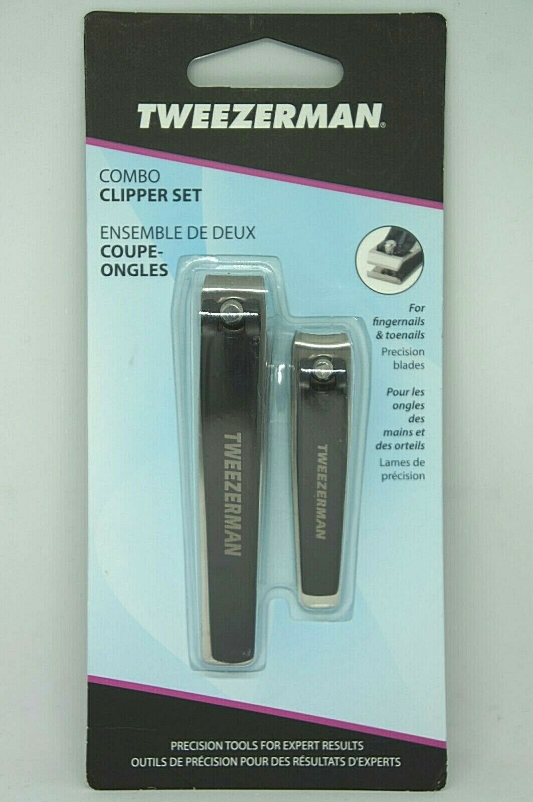 Tweezerman Combo Clipper Set with Fingernail Clippers and To