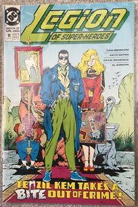 LEGION OF SUPER-HEROES issue #11 / september 1990/ DC comics /near mint