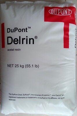 1lb White Delrin Acetal Resin 500p Plastic Injection Molding Pellets