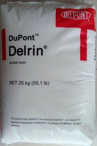 5LB (BLACK) DELRIN ACETAL RESIN 500P PLASTIC INJECTION MOLDING PELLETS