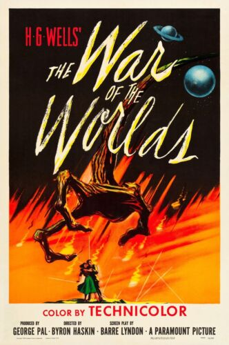 """War of the Worlds poster 11.7"""" x 16.5"""""""