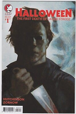 Halloween #1 DDP Variant First Death of Laurie Strode MICHAEL MYERS Rare HTF NM (Halloween Laurie Strode)